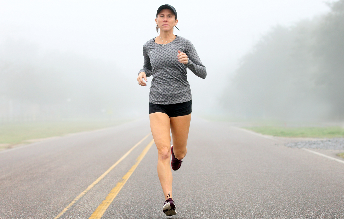 Jessica Jones, who earned a earned a Ph.D. in microbiology from South, is set to complete seven marathons on seven continents after winning the Mobile Marathon. She trains on Dauphin Island, where she lives and works.